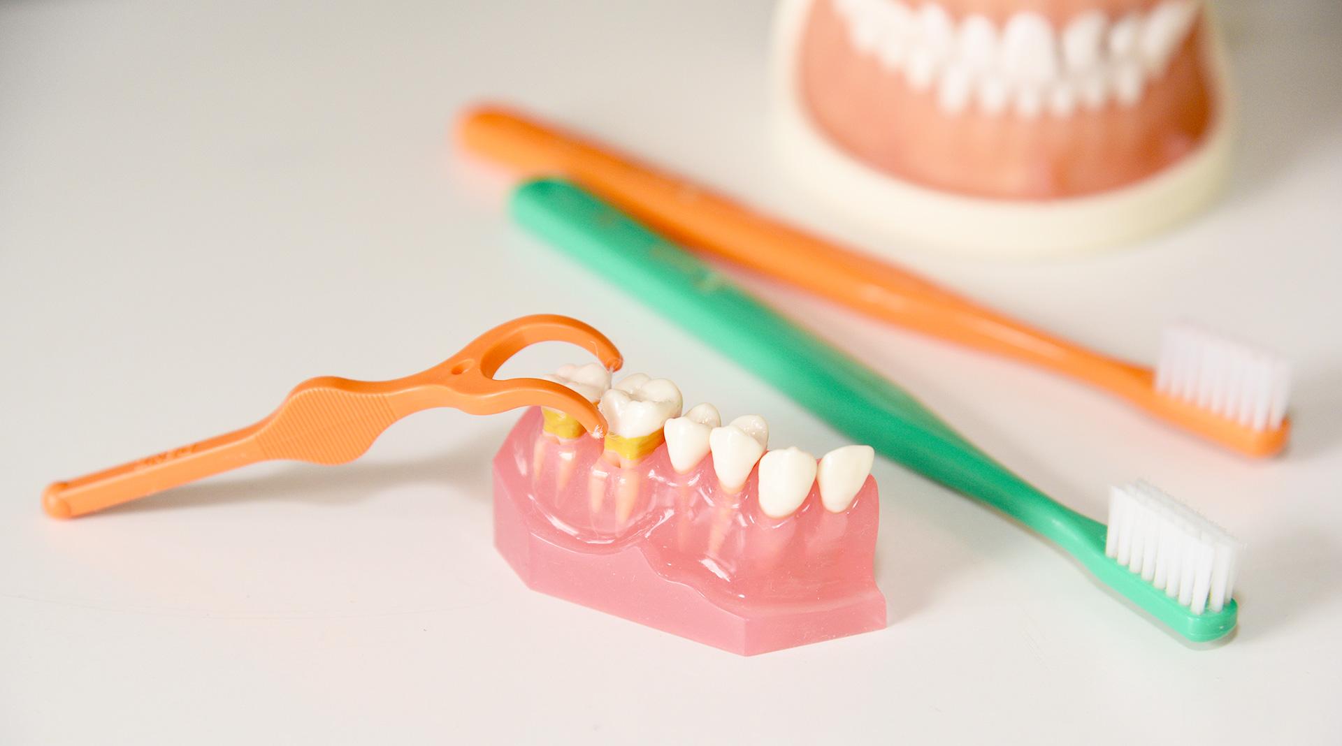 予防するための歯磨き講習