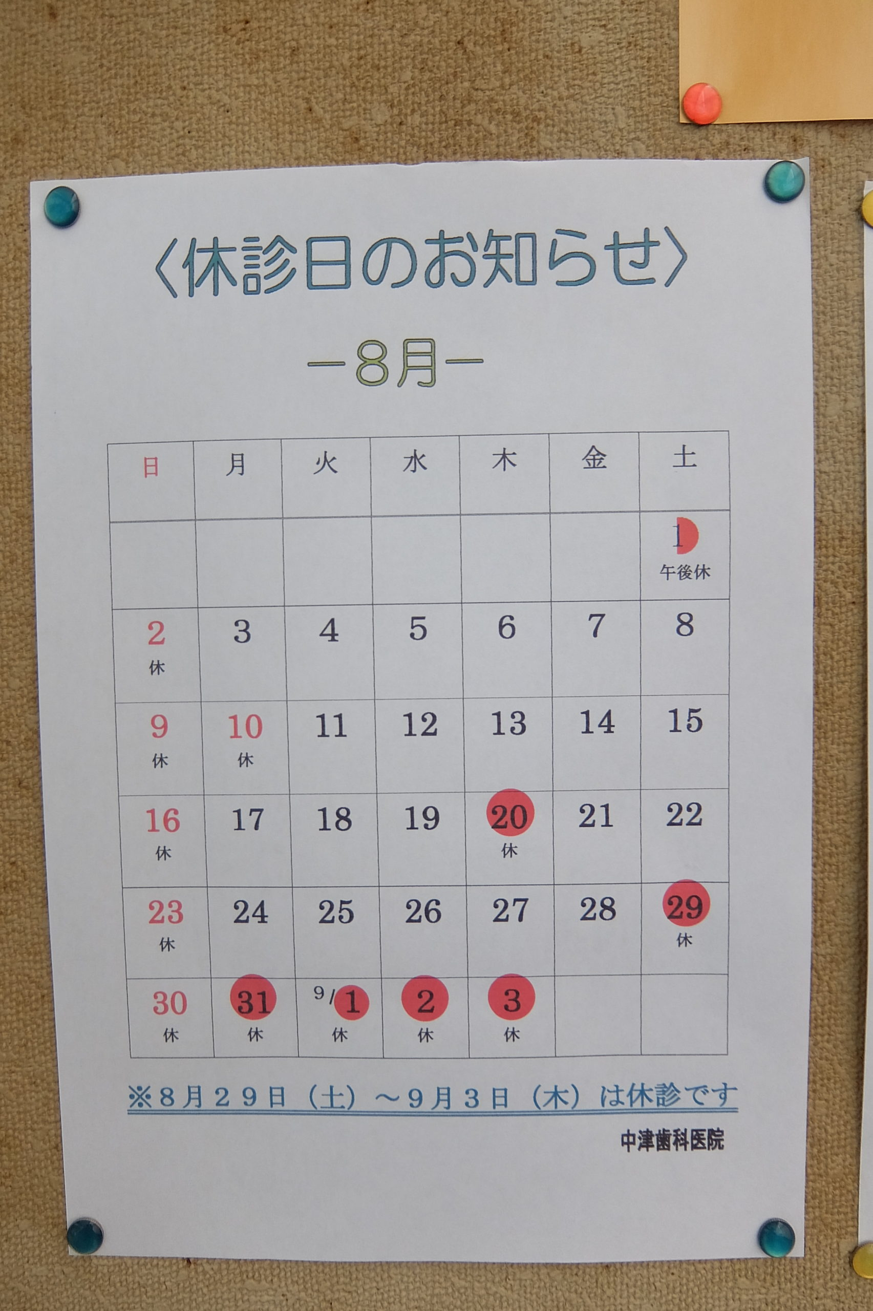 8 month diary